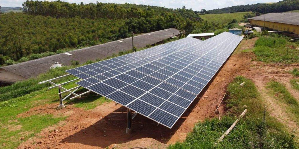 1. Instalação de energia solar fotovoltaica rural
