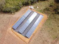 Instalação de energia solar em usinas de solo na cidade de Barbacena e região